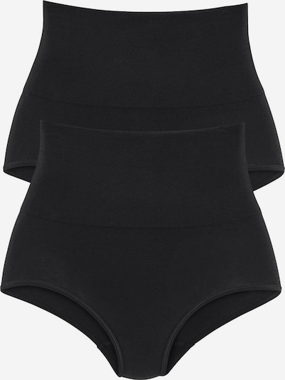 PETITE FLEUR Shapingslip in schwarz, Produktansicht