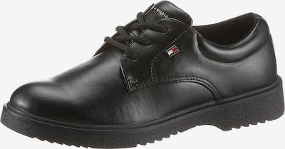 TOMMY HILFIGER Schnürschuh in schwarz, Produktansicht