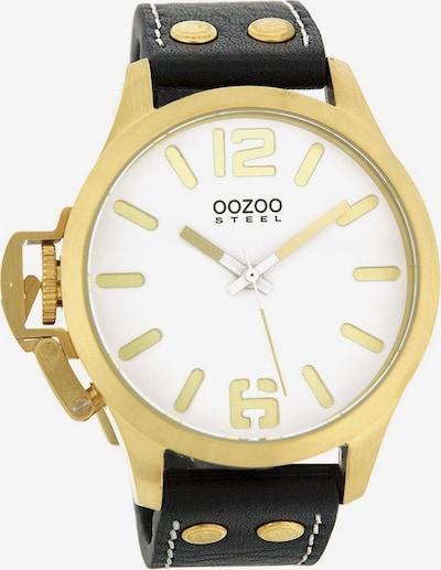 OOZOO Uhr in gold, Produktansicht