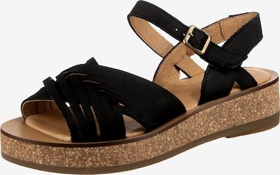 EL NATURALISTA Klassische Sandaletten in schwarz, Produktansicht