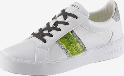 bugatti Sneaker in grün / weiß, Produktansicht
