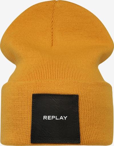 Căciulă REPLAY pe galben, Vizualizare produs