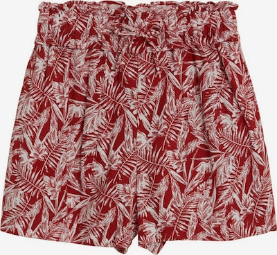 MANGO KIDS Pantalon en rouge / blanc, Vue avec produit
