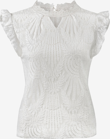 STOCKERPOINT Trachtenbluse 'Bea' in Weiß