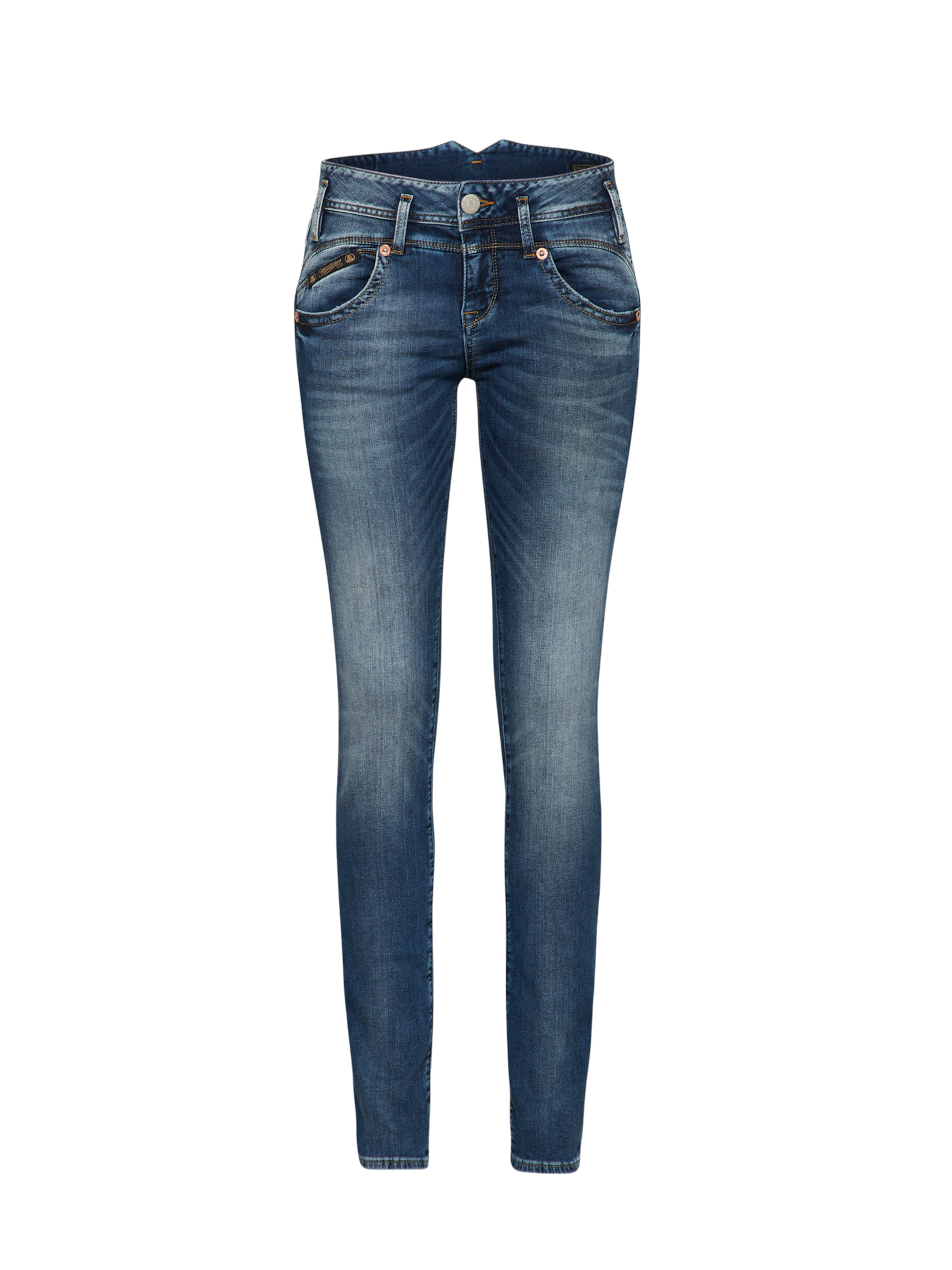 Denim Stretch' Jeans Blue Herrlicher Slim 'pearl In 8N0mvnw
