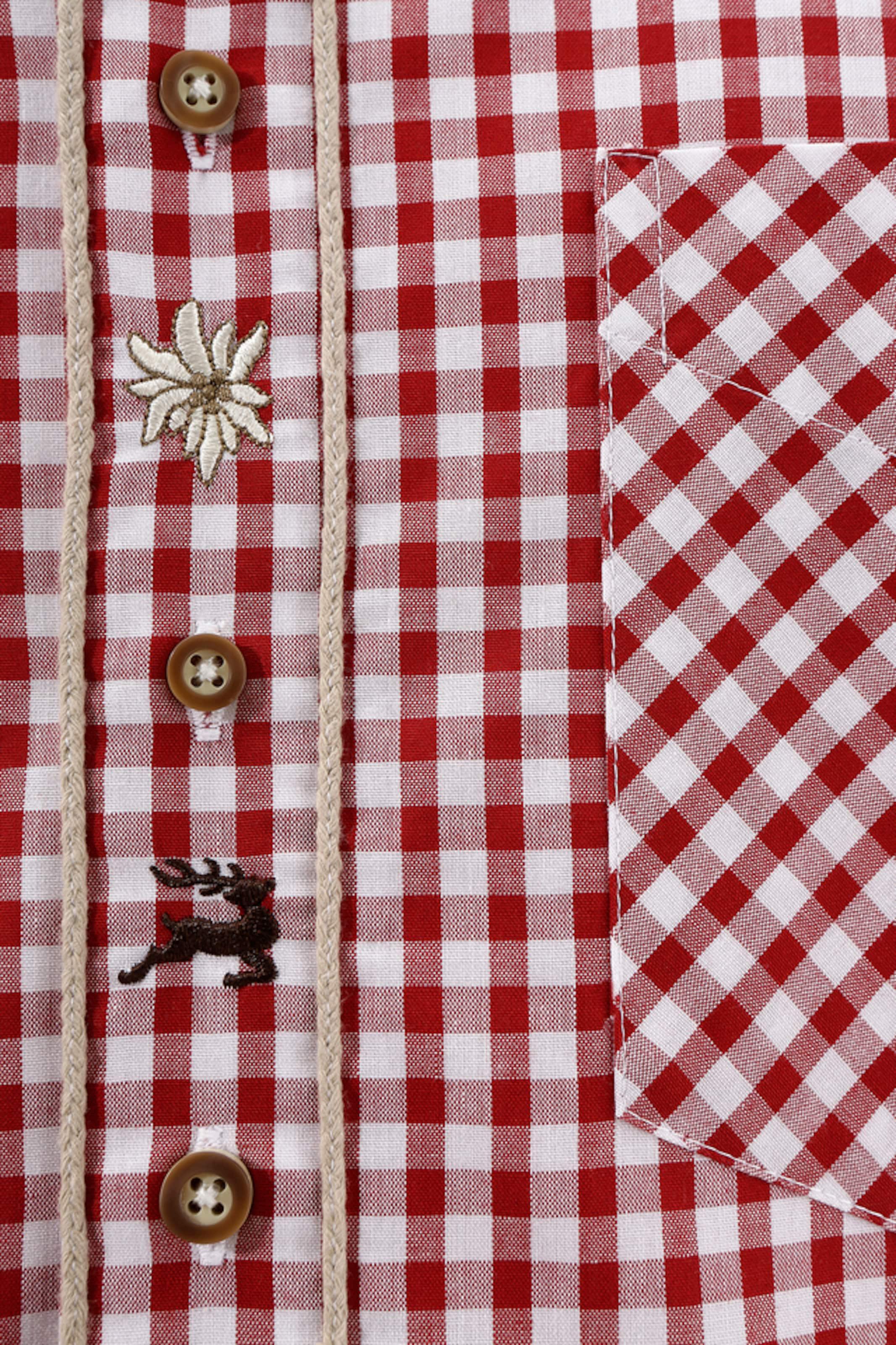 OS-TRACHTEN Trachtenhemd mit Krempelärmel Online Einkaufen xDJAQEFi