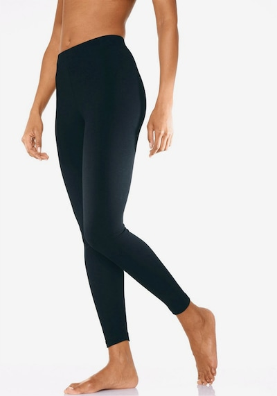 VIVANCE Leggings in bordeaux / schwarz, Modelansicht