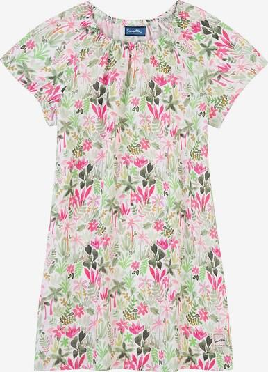 Sanetta Kidswear Kleid in mischfarben / weiß, Produktansicht