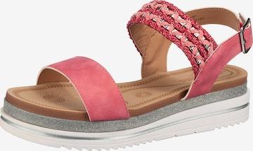Laufsteg München Sandale in Pink