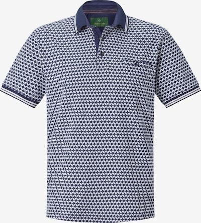 Charles Colby Poloshirt 'Duke Trevor' in navy / weiß, Produktansicht