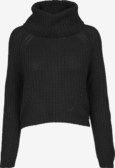 Urban Classics Sweater mit Turtleneck in schwarz, Produktansicht