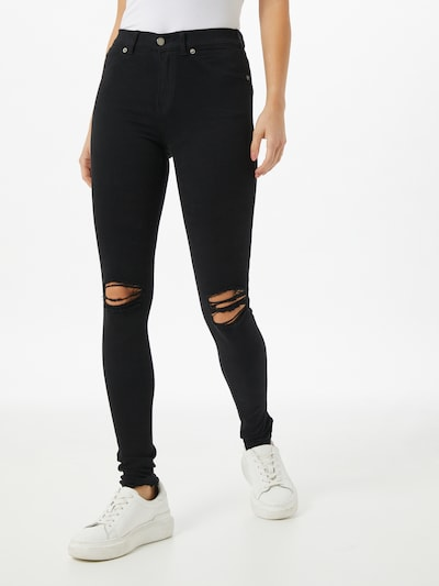 Dr. Denim Jeggings  'Plenty' in black denim, Modelansicht