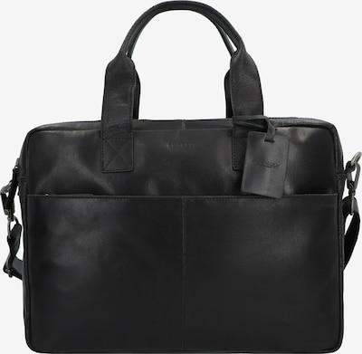 Burkely Aktentasche 'Vintage Jesse' in schwarz, Produktansicht