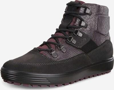 ECCO Stiefel in dunkellila / schwarz, Produktansicht