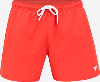 Emporio Armani Badeshorts in rot, Produktansicht