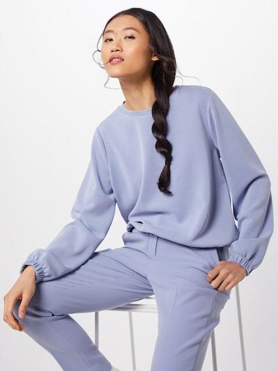 OPUS Sweatshirt 'Grinz' in rauchblau / hellblau   ABOUT YOU
