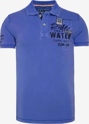 CAMP DAVID Тениска в синьо