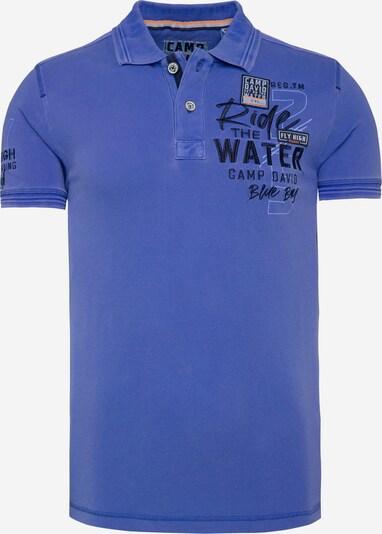 CAMP DAVID T-Krekls, krāsa - zils, Preces skats