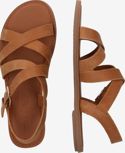 Sandale cu baretă 'SICILY' TOMS pe maro deschis: Privire laterală