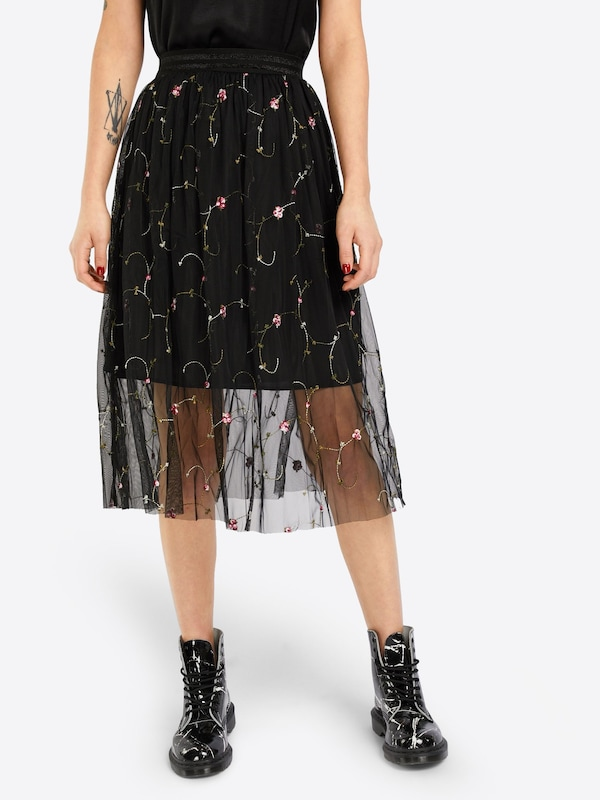 NEW LOOK 'GO EMBR FLORAL TULLE PROM' Rock