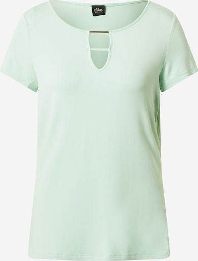s.Oliver BLACK LABEL Shirt in mint, Produktansicht