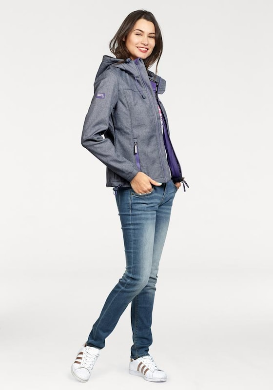 Superdry Softshelljacke 'HOODED WINTREKKER'