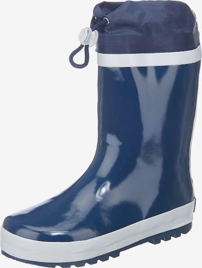 PLAYSHOES Gumové holínky - námořnická modř / bílá, Produkt