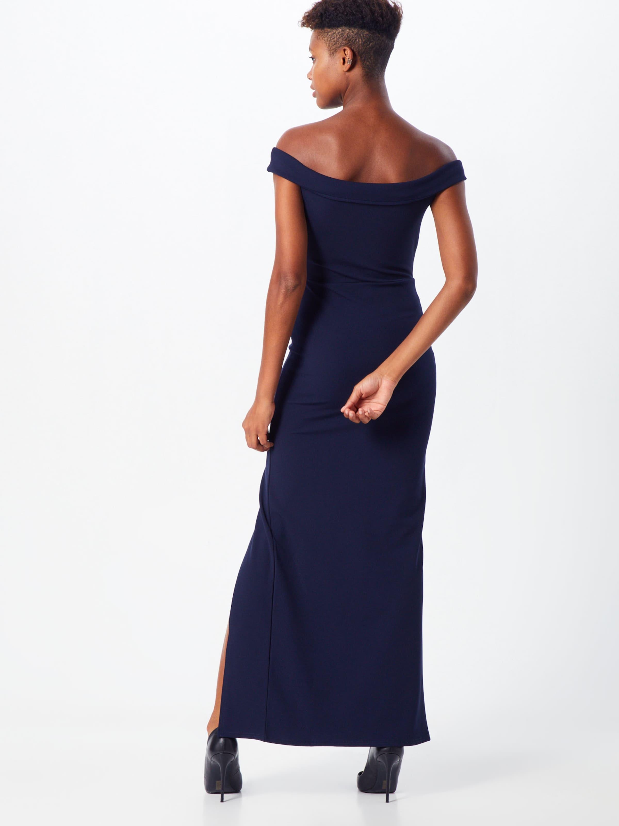 Missguided En De Marine Robe Bleu Soirée 0O8mNwyvn