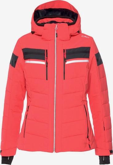 CMP Outdoorjas in de kleur Neonoranje / Zwart, Productweergave