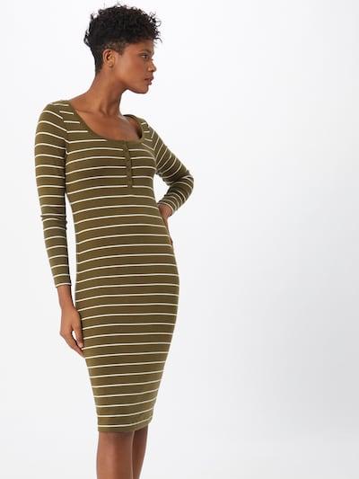 GAP Kleid in oliv / weiß, Modelansicht
