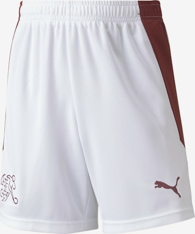 PUMA Shorts 'Replica' in blutrot / weiß, Produktansicht