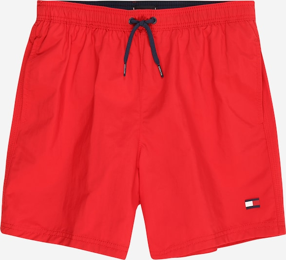 TOMMY HILFIGER Badeshorts 'DRAWSTRING' in rot, Produktansicht