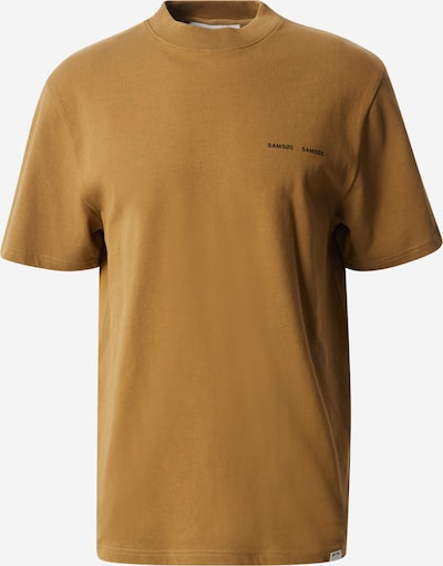 Samsoe Samsoe Shirt 'Norsbro' in ocker, Produktansicht