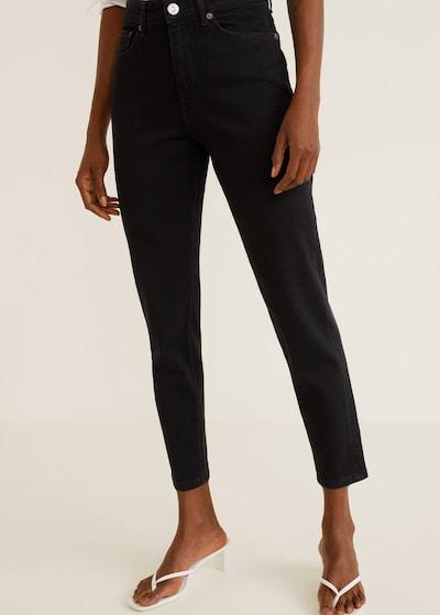 MANGO Jeans 'Mom' in schwarz, Modelansicht