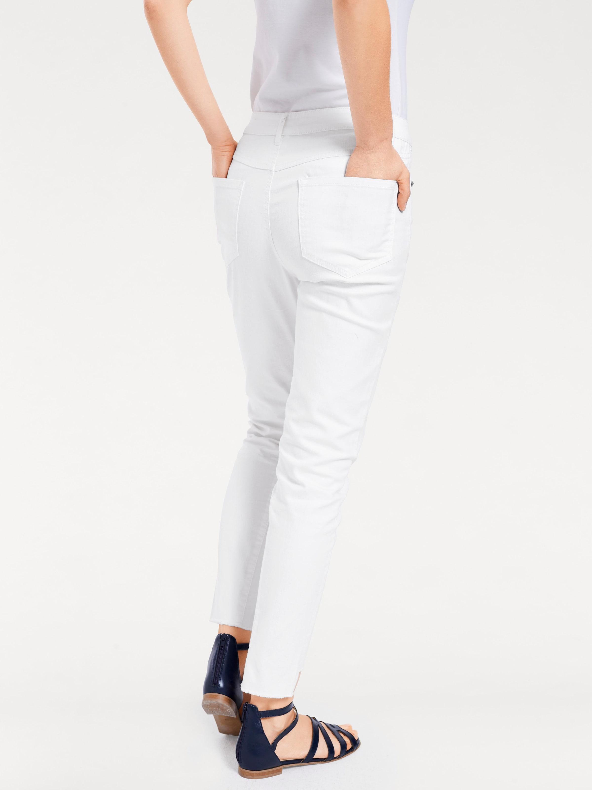 B.C. Best Connections by heine 7/8-Jeans mit Fransen Bester Günstiger Preis Rabatt Limitierte Auflage Billig Verkauf Offizielle Seite Billig Bequem Uuiccv9xE