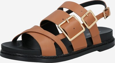 Shoe The Bear Sandale 'JOY MULTI STRAP L' in braun, Produktansicht