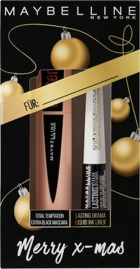 MAYBELLINE New York Make-up Set 'X-MAS Total Temptation' in schwarz, Produktansicht