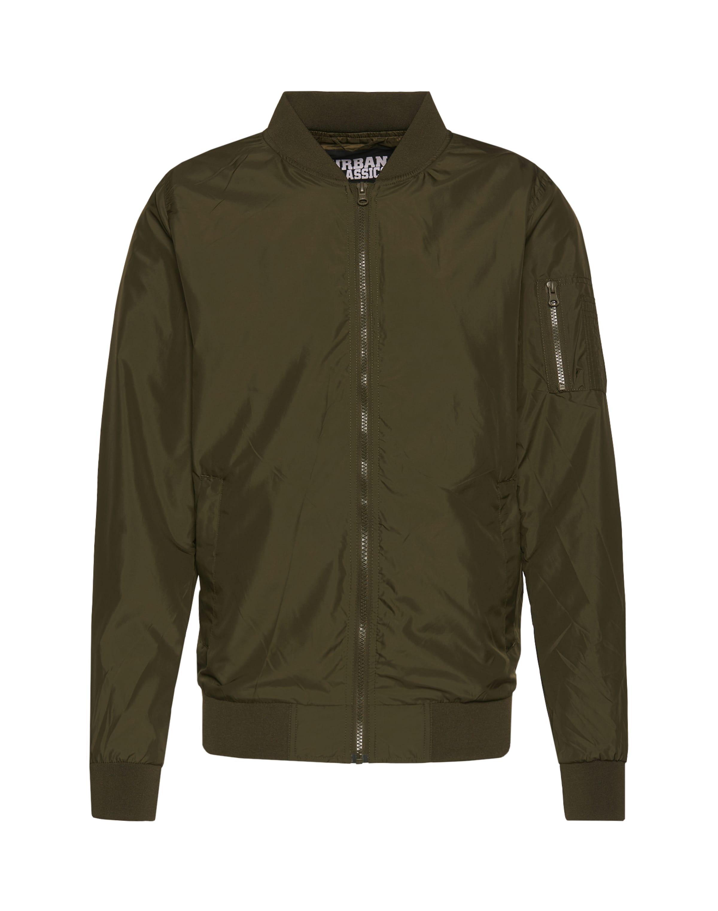 Urban Classics 'light Olive Veste saison En Bomber Jacket' Mi K3JclF1uT