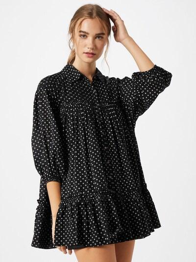 Free People Kleid 'Full Swing' in schwarz / weiß, Modelansicht