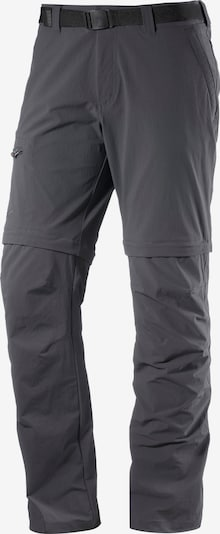 Maier Sports Zipphose 'Tajo 2' in graphit, Produktansicht