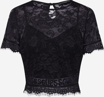 GUESS Shirt 'PAULA' in schwarz, Produktansicht