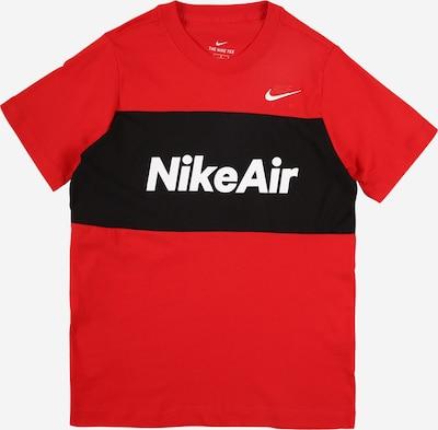 Nike Sportswear T-Shirt in rot / schwarz / weiß, Produktansicht
