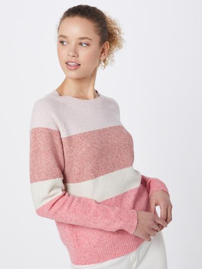 VERO MODA Pullover 'VMDOFFY' in creme / rosa, Modelansicht