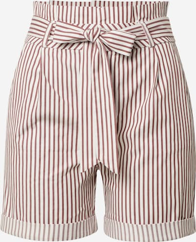 VERO MODA Shorts 'EVA' in rot / weiß, Produktansicht