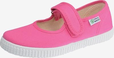 natural world Ballerinas in pink / weiß, Produktansicht
