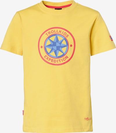TROLLKIDS T-Shirt 'Windrose' in gelb, Produktansicht