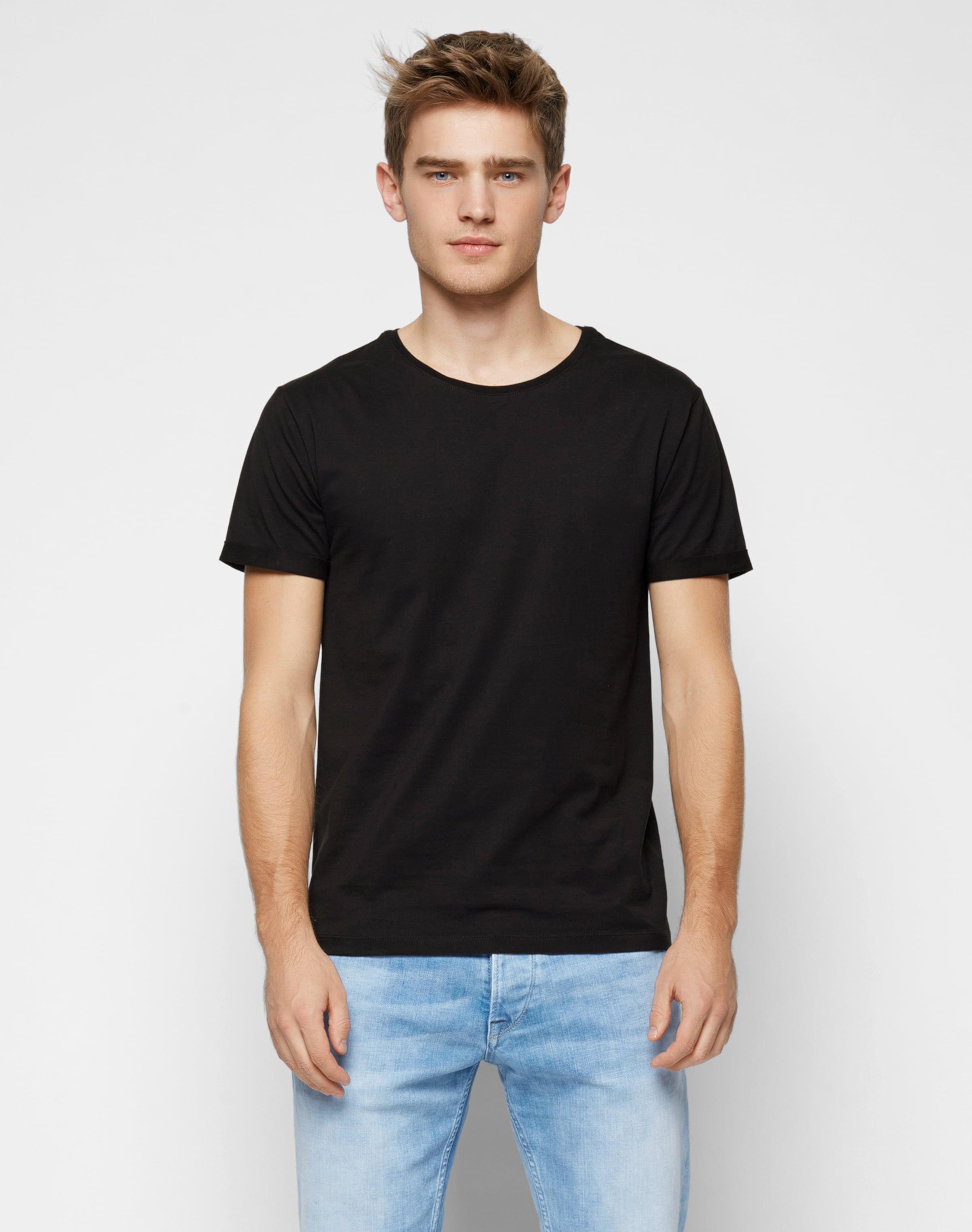 Kaufen Wirklich Billig Spielraum Geringe Versandgebühr ABOUT YOU Basics T-Shirt 'Andy' Erschwinglich Verkauf Websites Nett yqUm0qra2P