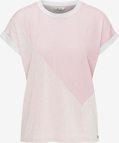 Petrol Industries Shirt in de kleur Rosa / Pastelroze / Wit, Productweergave