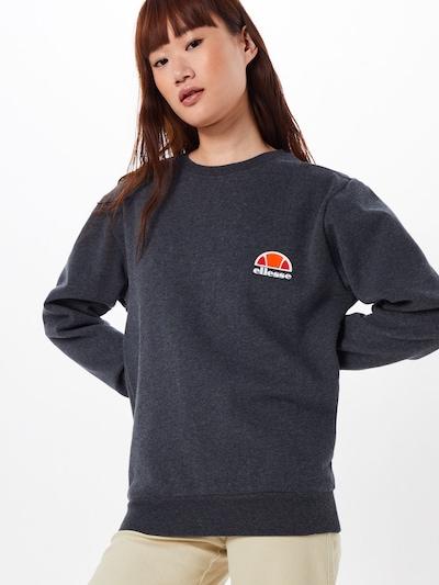 ELLESSE Sweat-shirt en gris foncé: Vue de face