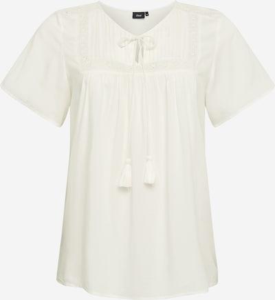 Zizzi Shirt in weiß, Produktansicht